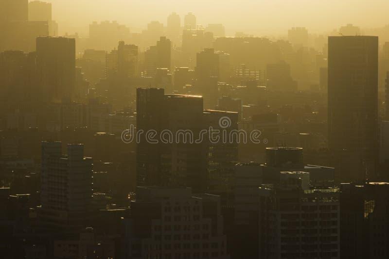 Chaud dans la ville image libre de droits