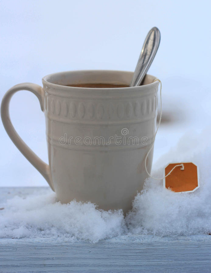 Chaud et froid photo stock