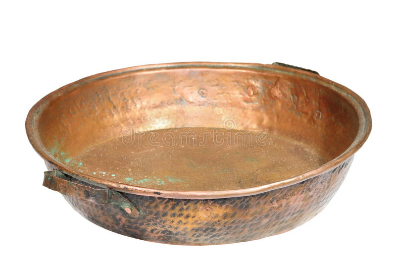Chaudron d'isolement par bronze image libre de droits
