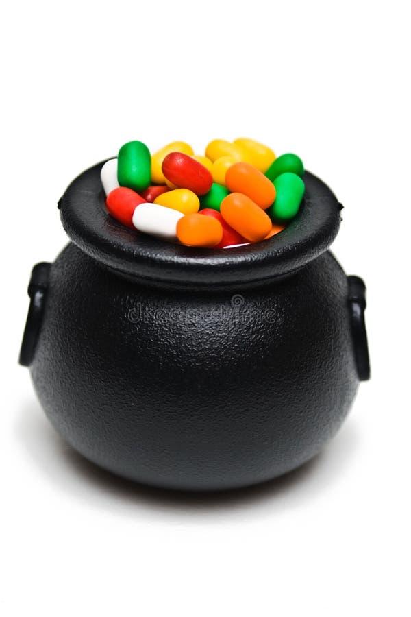 chaudron de sucrerie images stock