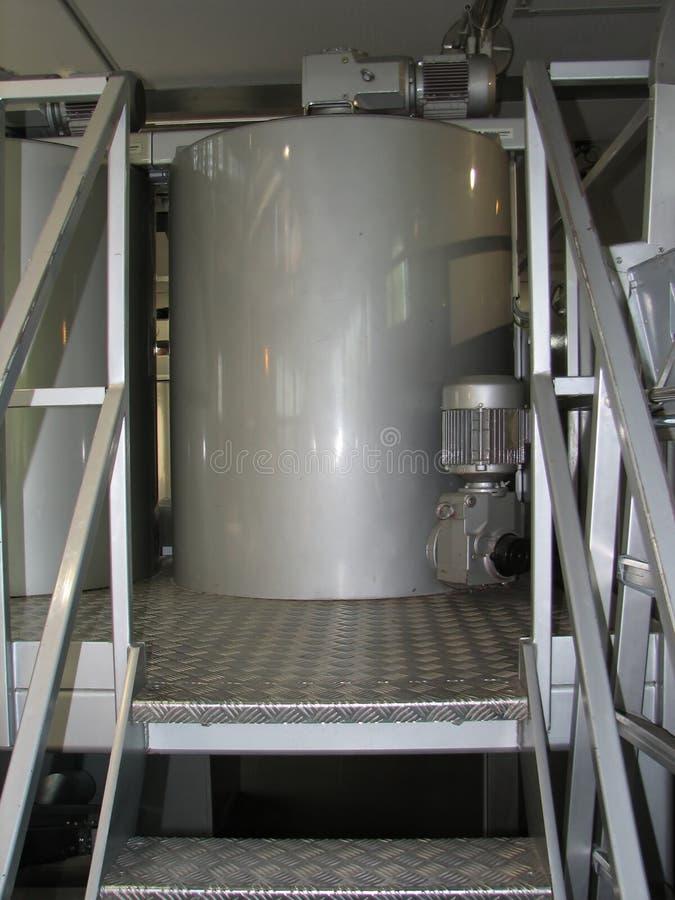 Chaudron ou réservoir pour le mélange image stock