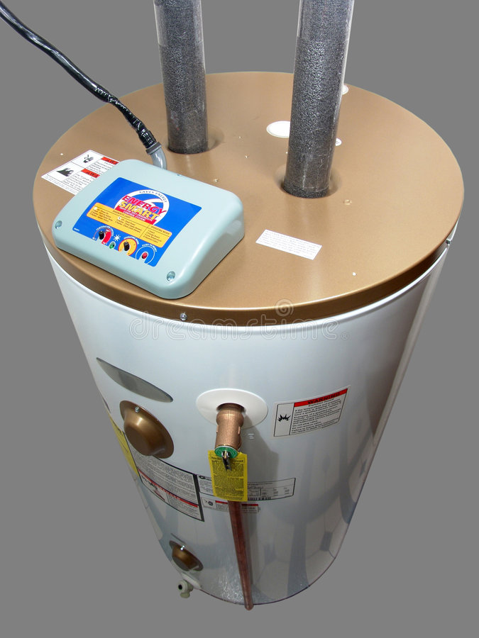 Chauffe-eau électrique photos libres de droits