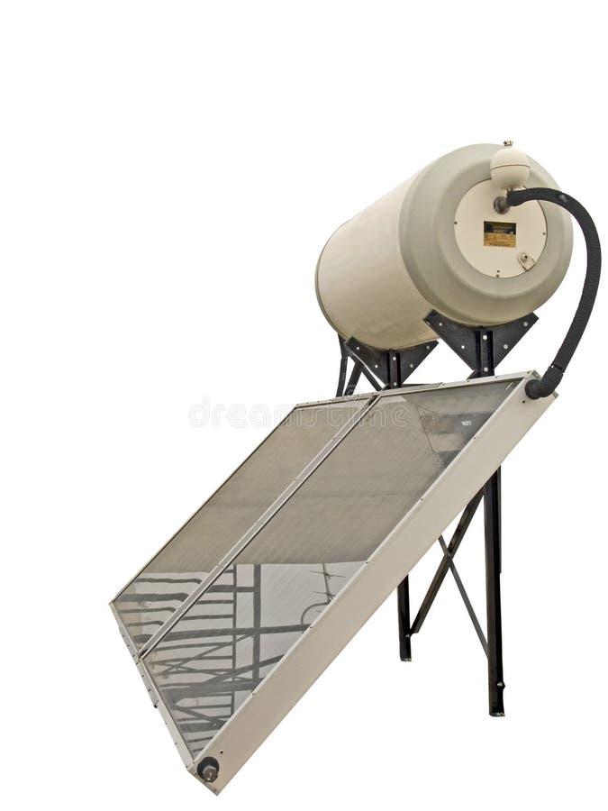 Chauffe-eau solaire photographie stock libre de droits