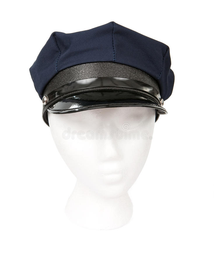 Download Chauffeur Hat Isolated On White Stock Image - Image: 15110677