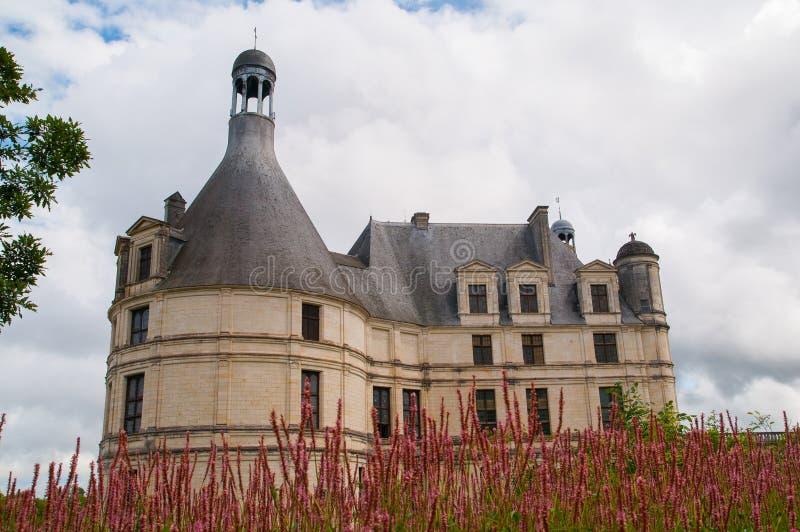 Chaumont Castle stock photography