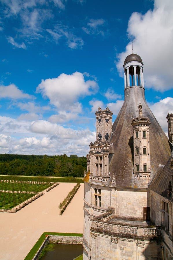Chaumont Castle. Is a castle in Chaumont-sur-Loire France stock photo