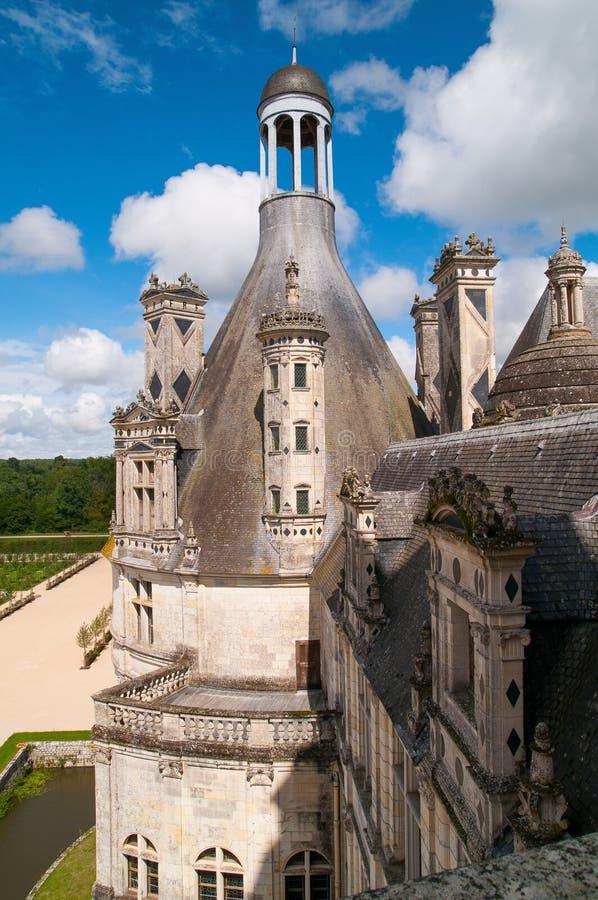 Chaumont Castle. Is a castle in Chaumont-sur-Loire France royalty free stock image
