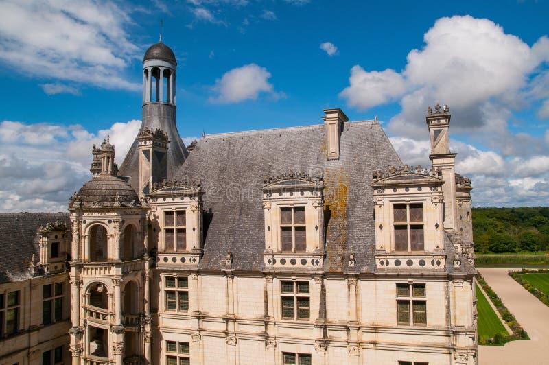 Chaumont Castle stock images
