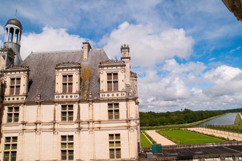 Chaumont Castle stock photo