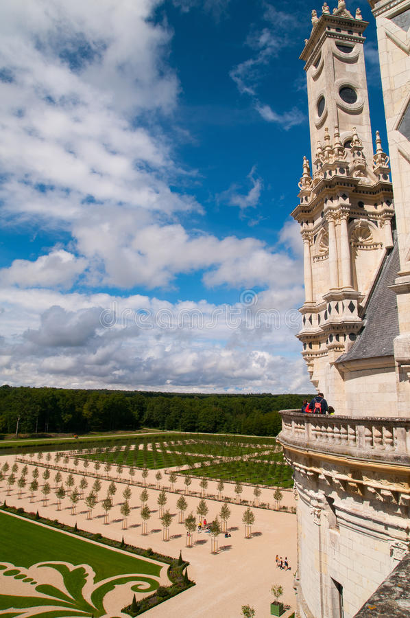 Chaumont Castle royalty free stock photos