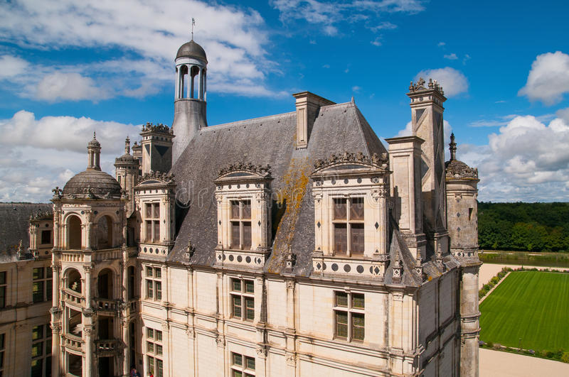 Chaumont Castle royalty free stock photo