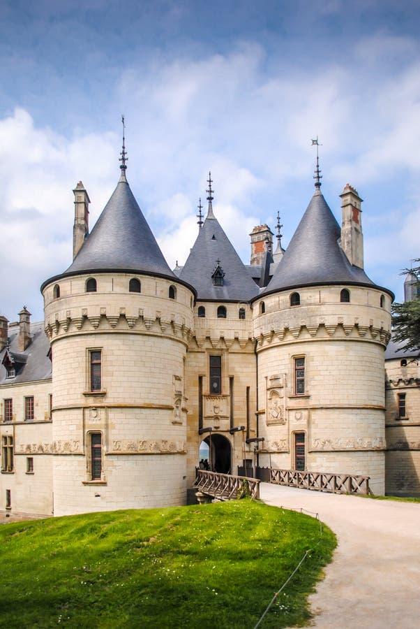 Chaumont em Loire foto de stock