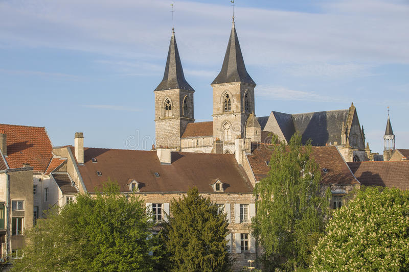 Chaumont, France image stock