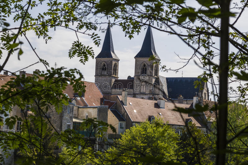 Chaumont, France. Chaumont is a commune of France, and the capital (or préfecture) of the Haute-Marne department. The city stands on the Marne River and is stock photos