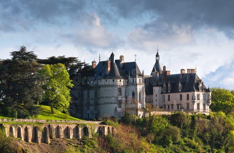 Chaumont op het kasteel van het kasteelChaumont van de Loire in Frankrijk royalty-vrije stock fotografie