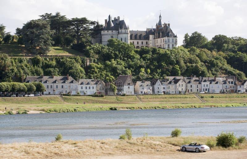 Chaumont Sur la Loira Francia immagine stock