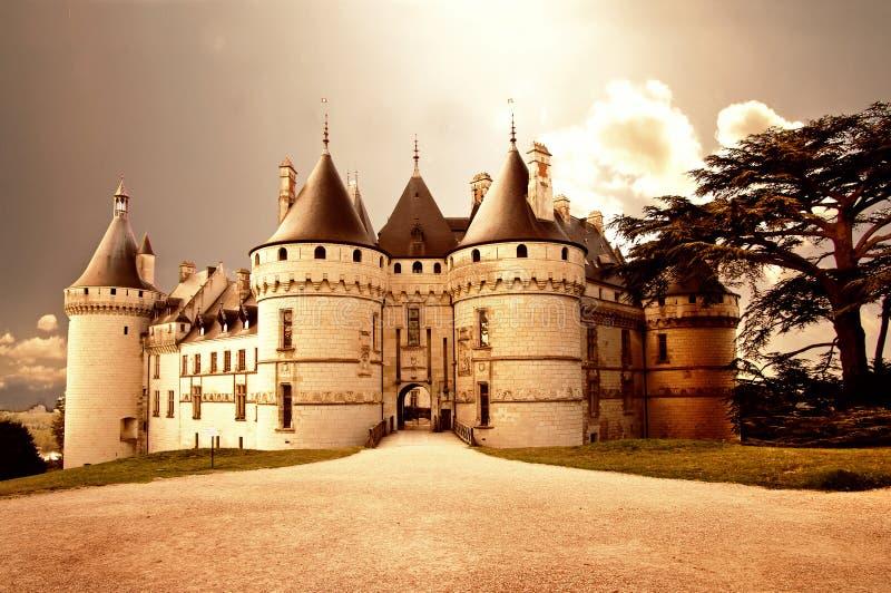 Chaumont-sur-loire stock photo