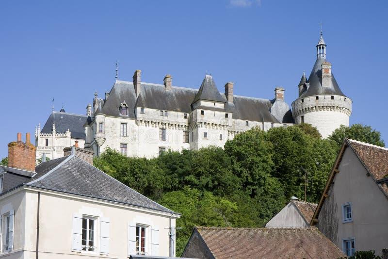 Chaumont-sur-Loire castle. Chateau de Chaumont sur Loire, Loir-et-Cher, France stock photos