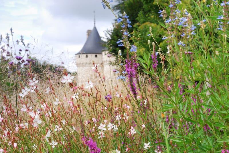 Chaumont-sur-Loire. Castle Chaumont-sur-Loire France stock photo