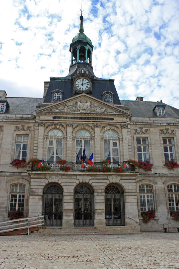 Chaumont Town Hall. Exterior of Chaumont Town Hall, France royalty free stock photo