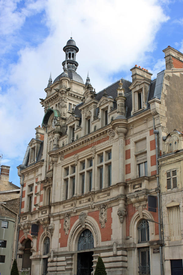 Chaumont Town Hall. Town Hall in Chaumont, France stock image