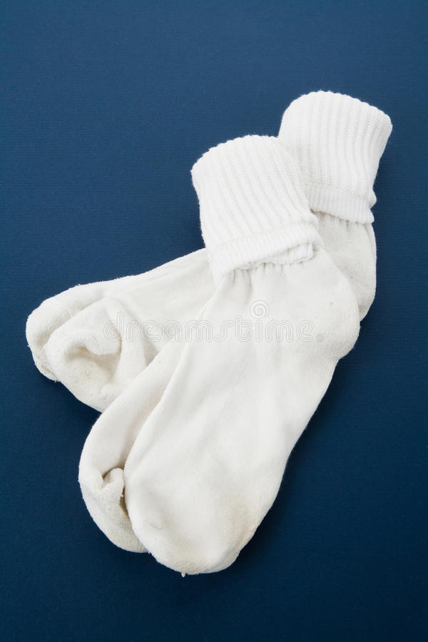 Chaussettes blanches photo stock