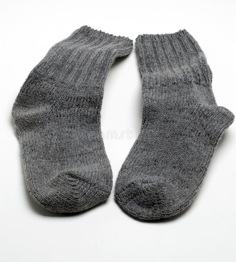 Chaussettes chaudes photo stock