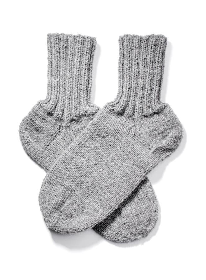 Chaussettes chaudes photos stock