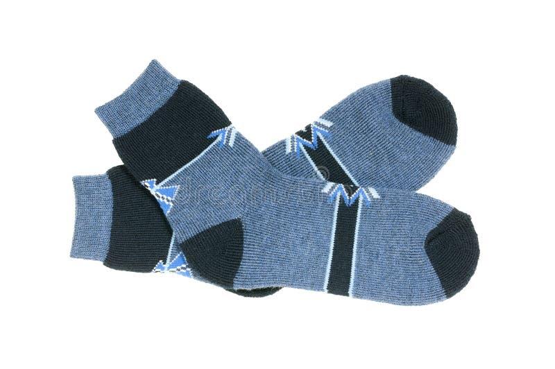 Chaussettes d'isolement photo stock