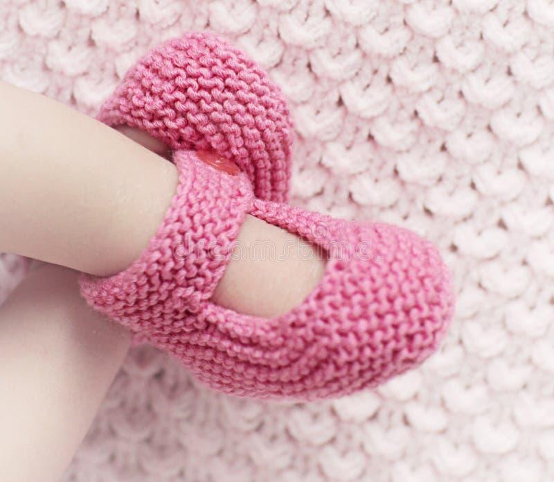 Chaussettes de bébé image stock