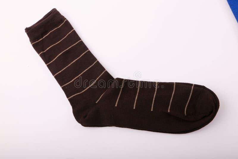 Chaussettes de Brown images stock