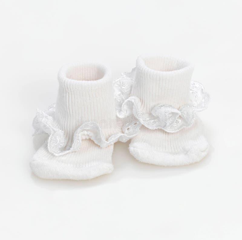 Chaussettes de chéri photo stock