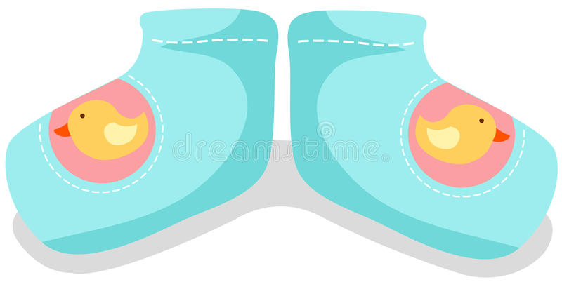 Chaussettes de chéri illustration libre de droits