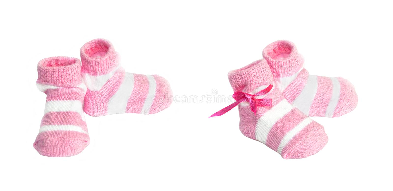 chaussettes de chéri photos stock