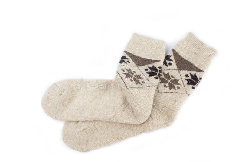 Chaussettes de Knit photo libre de droits