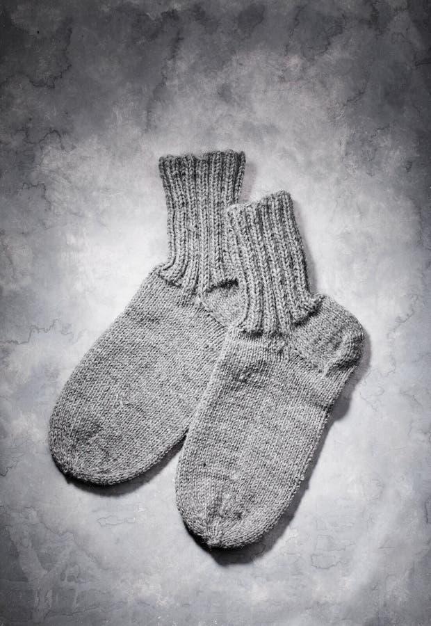 Chaussettes de laines images libres de droits