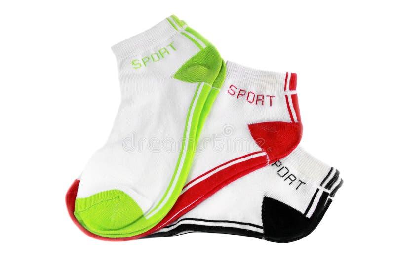 Chaussettes de sports photo libre de droits