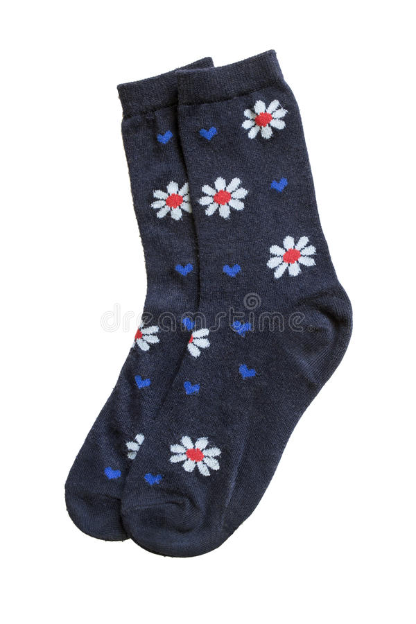 Chaussettes de tricots photo stock