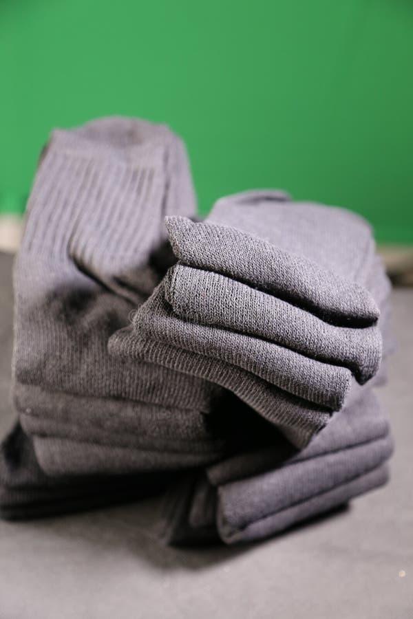 Chaussettes du ` s d'hommes photographie stock libre de droits