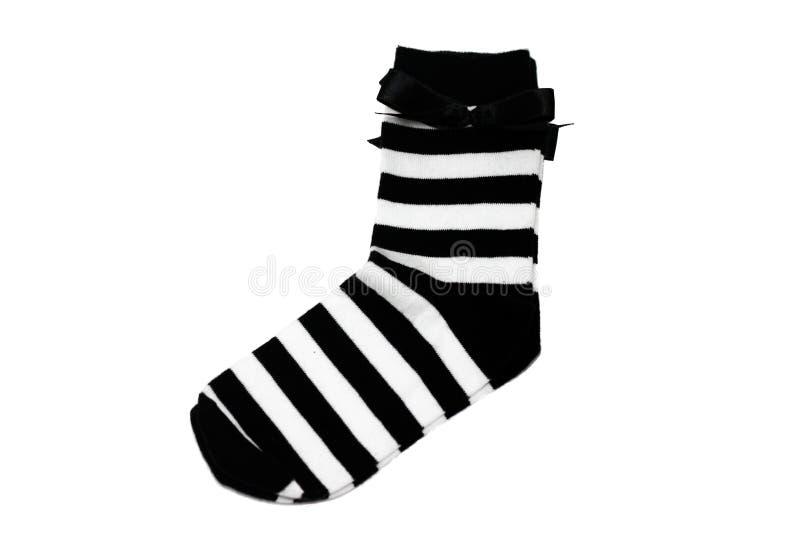 Chaussettes femelles images stock