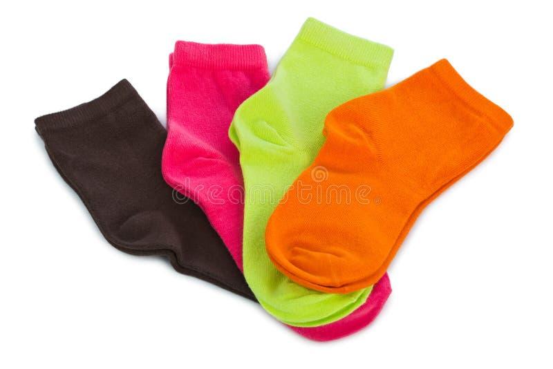 Chaussettes femelles image stock