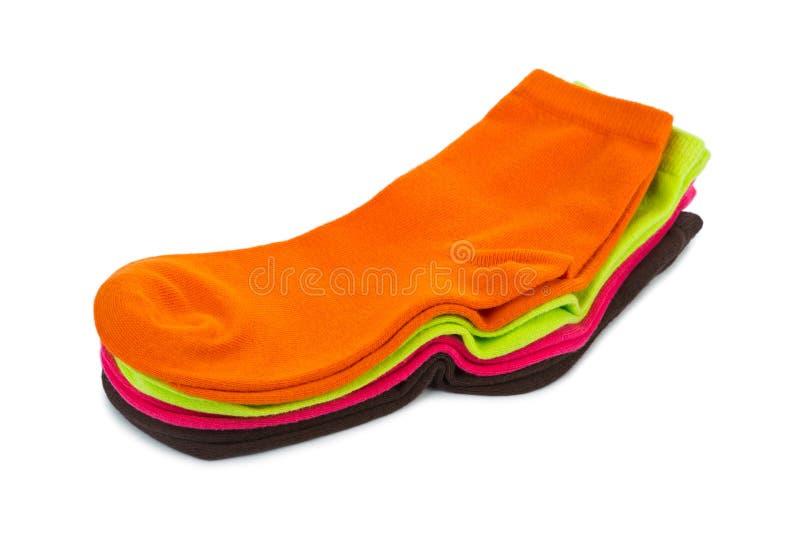 Chaussettes femelles photos stock