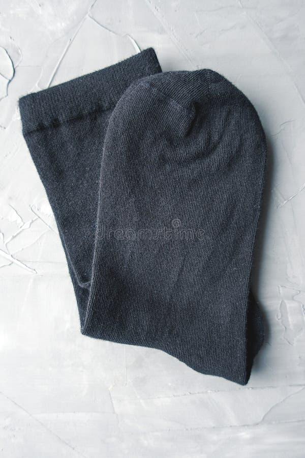 Chaussettes noires photos libres de droits