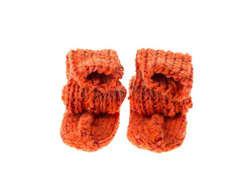 Chaussettes oranges photographie stock libre de droits