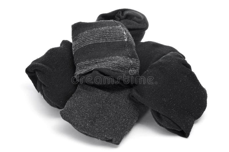 Chaussettes pliées images libres de droits