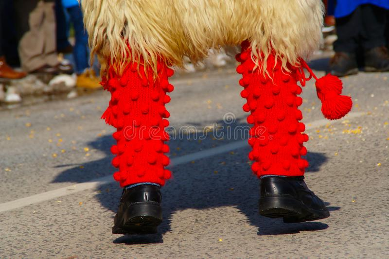 Chaussettes rouges image stock