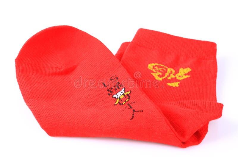 Chaussettes rouges image libre de droits