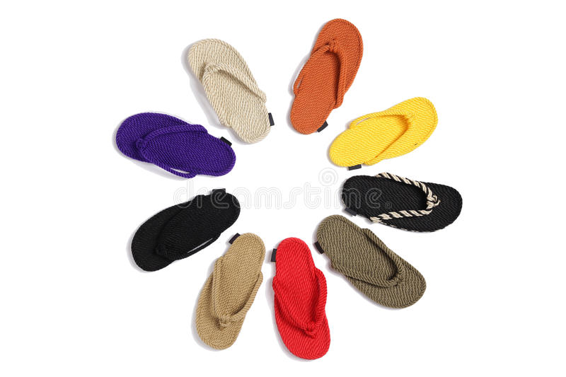 chaussons image stock
