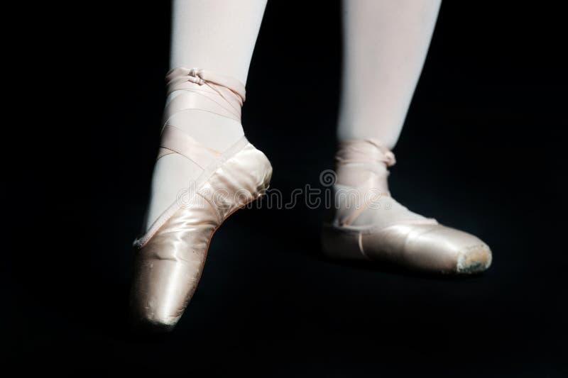 Chaussons de ballet image stock