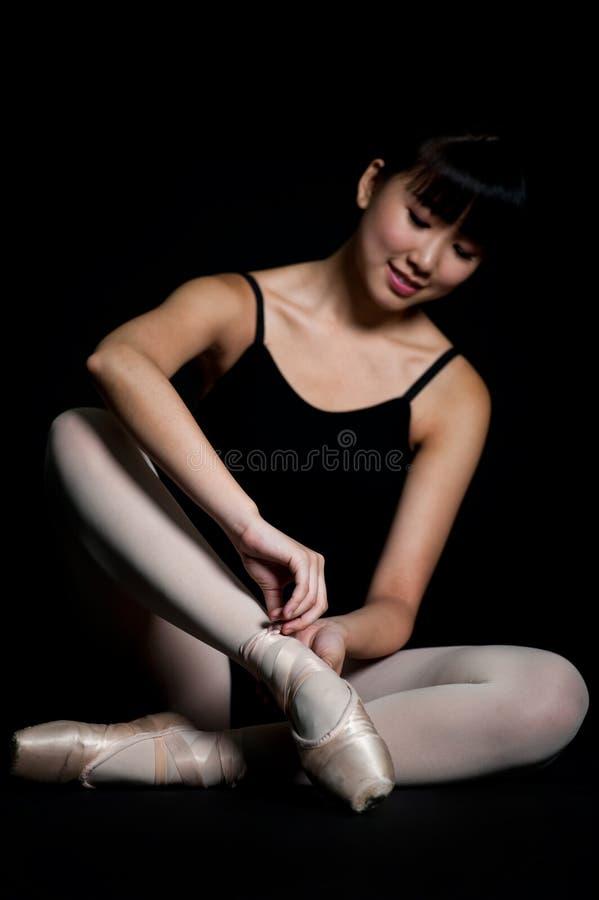 Chaussons de ballet images stock